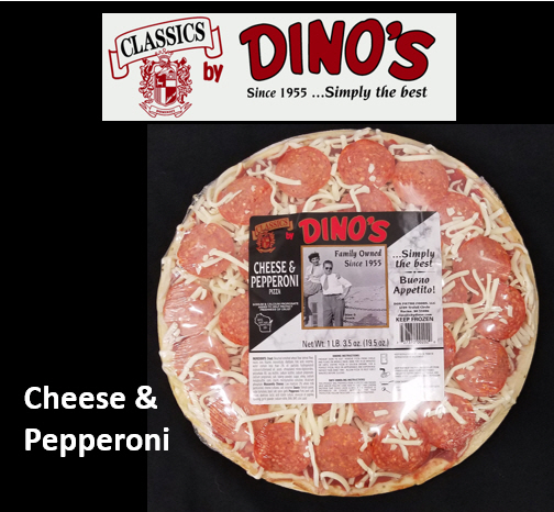 Label Cheese and Pepperoni
